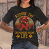 Rockin The Dachshund Mom Life Sunset Shirt M By AllezyShirt