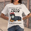 Rottweiler Mom 2020 Quarantined T-shirt S By AllezyShirt