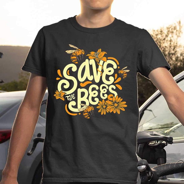 Save The Bees Flower Protection T-shirt S By AllezyShirt