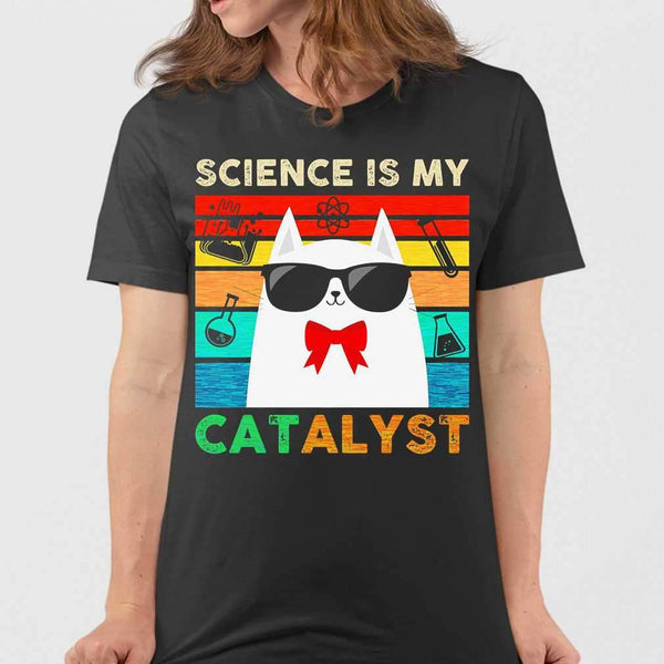 Science Is My Catalyst Vintage T-shirt M By AllezyShirt
