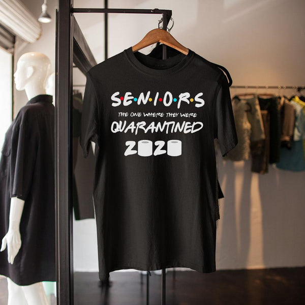 Senior 2020 Quarantine Shirt M By AllezyShirt