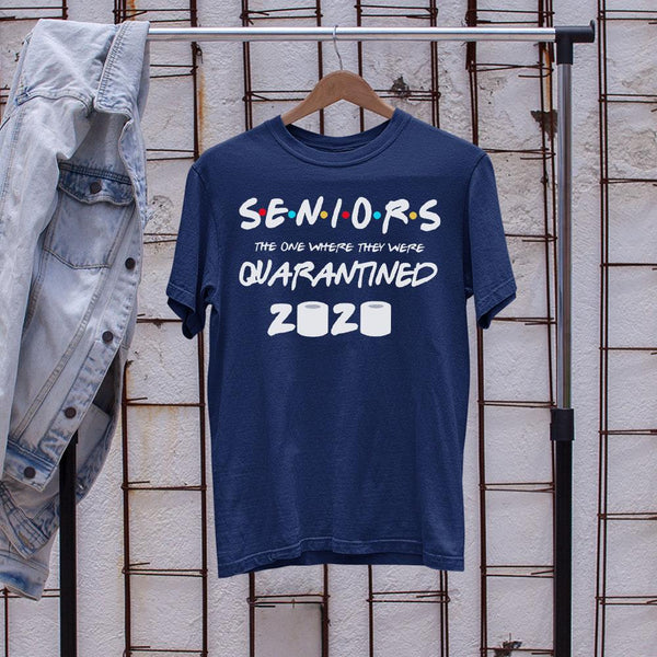 Senior 2020 Quarantine Shirt S By AllezyShirt