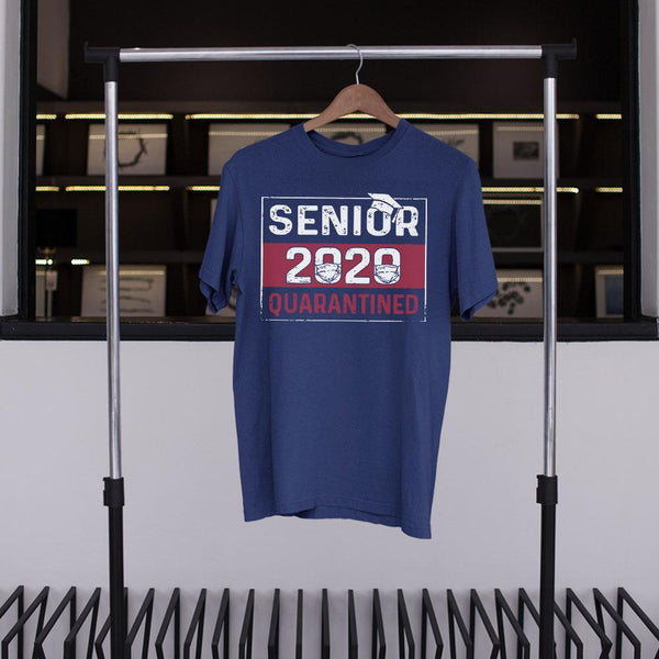 Senior 2020 Quarantined Shirt S By AllezyShirt