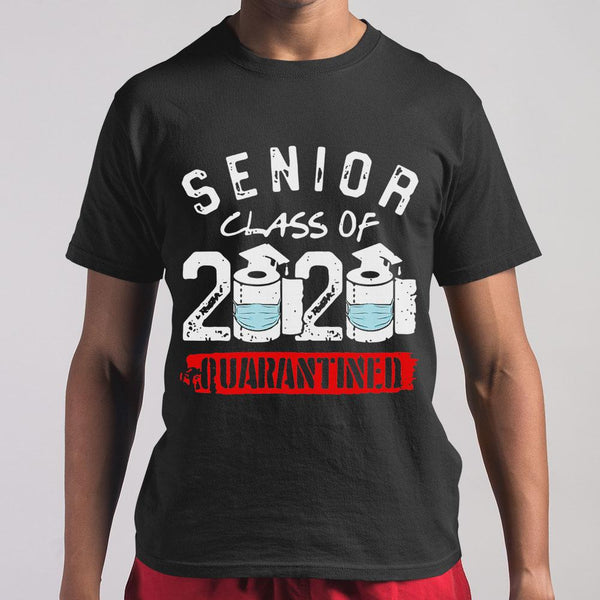 Senior Class Of 2020 Quarantine Graduation Toilet Papers Shirt M By AllezyShirt