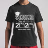 Senior Lass Of 2020 Shit Gettin' Real T-shirt S By AllezyShirt
