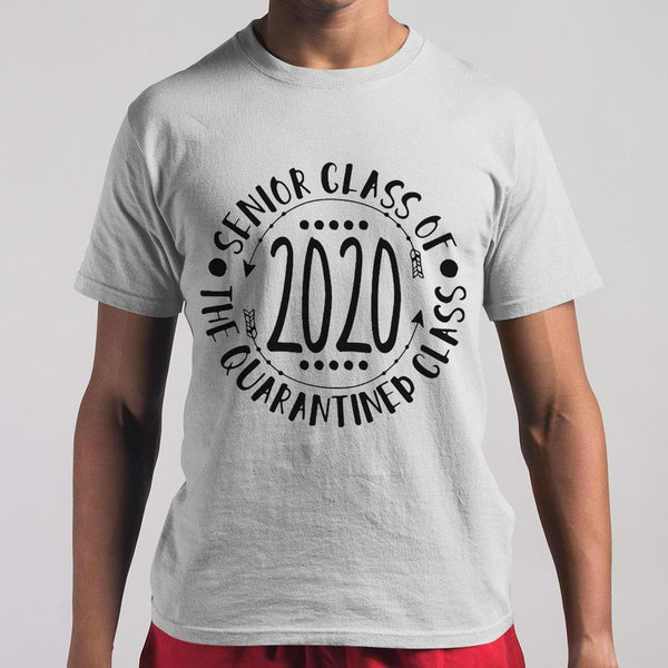 Seniors Class Of The Quarantined Class 2020 Shirt S By AllezyShirt