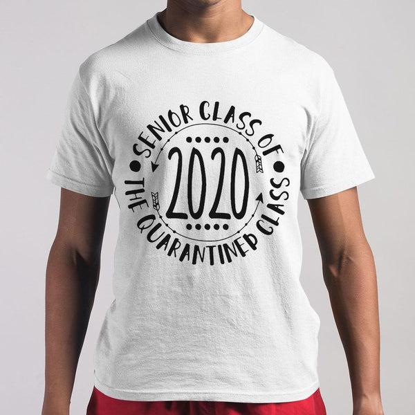 Seniors Class Of The Quarantined Class 2020 Shirt M By AllezyShirt