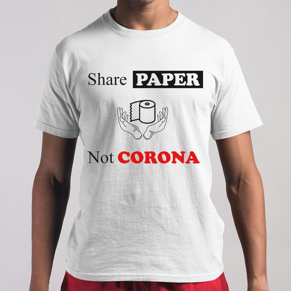Share Paper Not Corona M By AllezyShirt