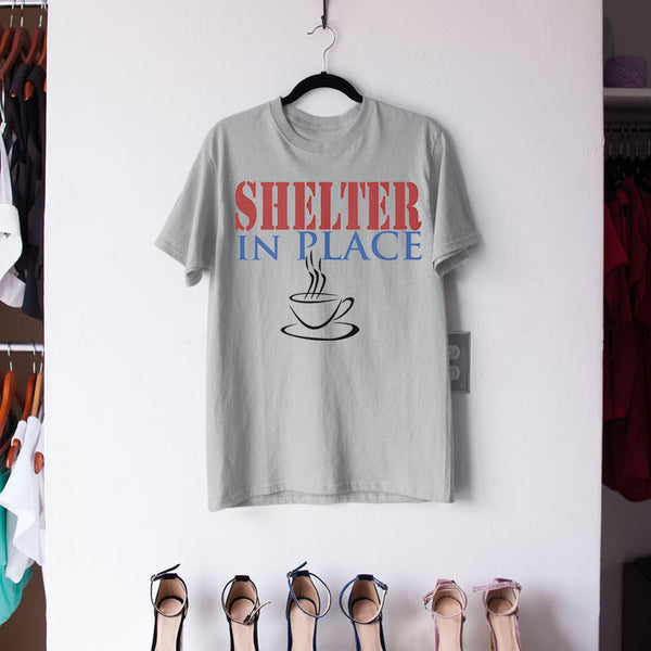 Shelter In Place With Tea Shirt M By AllezyShirt