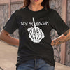 Sick Of This Shit Skull Hand T-shirt S By AllezyShirt