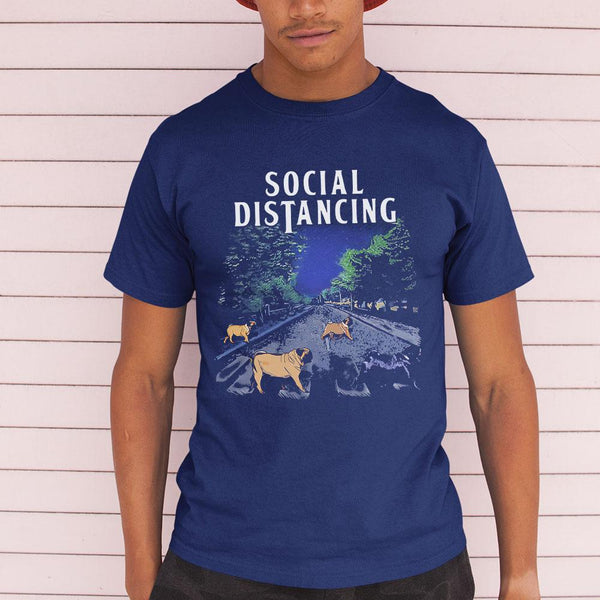 Social Distancing Bulldogs 2020 Shirt M By AllezyShirt