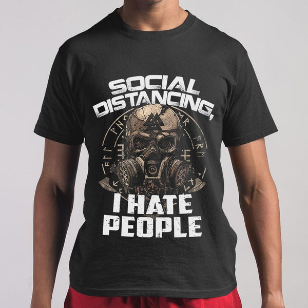 Social Distancing I Hate People Shirt M By AllezyShirt