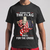 Stand For The Flag Kneel For The Cross T-shirt S By AllezyShirt
