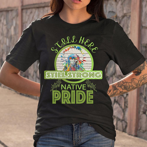 Still Here Still Strong Native Pride Vintage T-shirt M By AllezyShirt