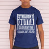 Straight Outta Quarantine Class Of 2020 Distressed Shirt M By AllezyShirt