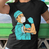 Strong Man Nurse Coronavirus Shirt S By AllezyShirt