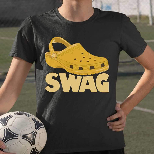 Summer Beach Croc Shoe Swag T-shirt M By AllezyShirt