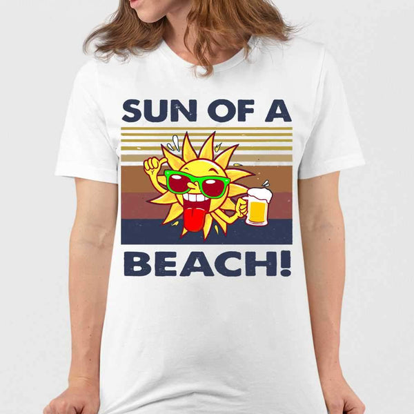 Sun Of A Beach Vintage T-shirt S By AllezyShirt