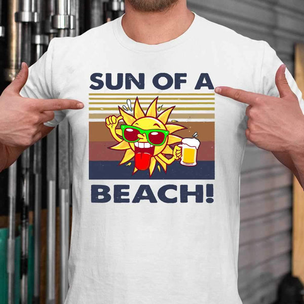 Sun Of A Beach Vintage T-shirt M By AllezyShirt
