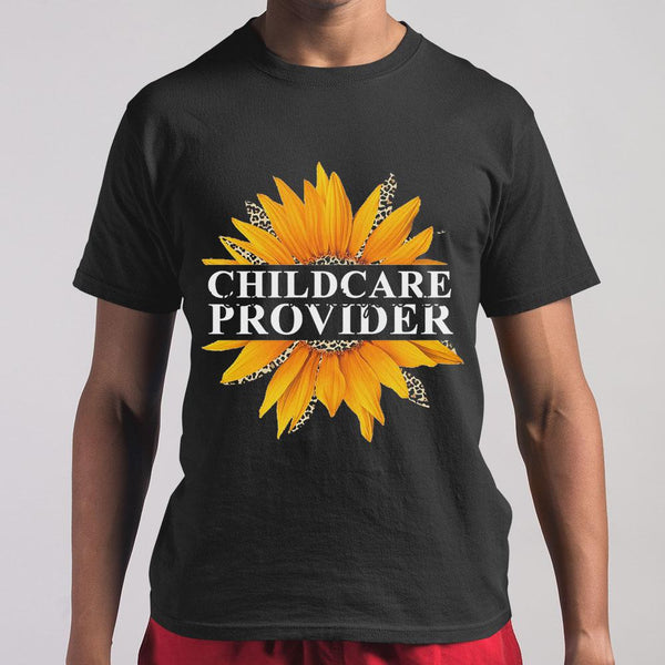 Sunflower Childcare Provider Love What You Do T-shirt M By AllezyShirt