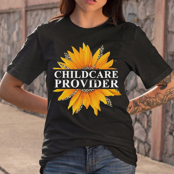 Sunflower Childcare Provider Love What You Do T-shirt S By AllezyShirt