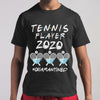 Tennis Player 2020 Quarantined Covid-19 M By AllezyShirt