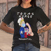 Texas Nurse Essential Covid-19 T-shirt S By AllezyShirt