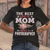 The Best Kind Of Mom Raises A Photographer T-shirt S By AllezyShirt