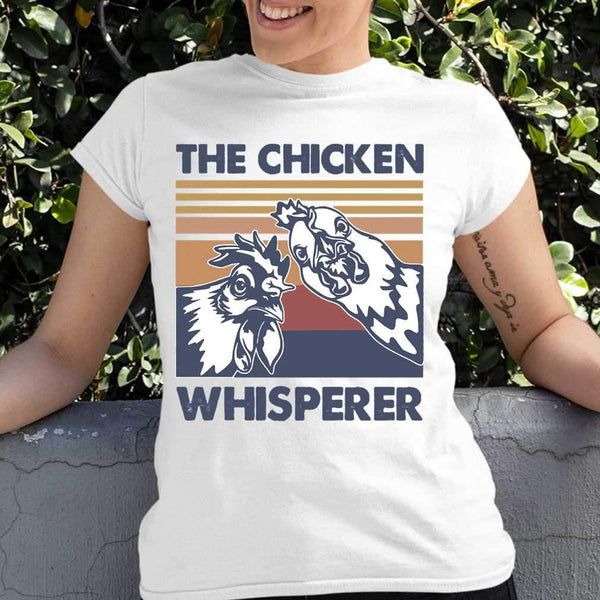 The Chicken Whisperer Roster Vintage T-shirt M By AllezyShirt