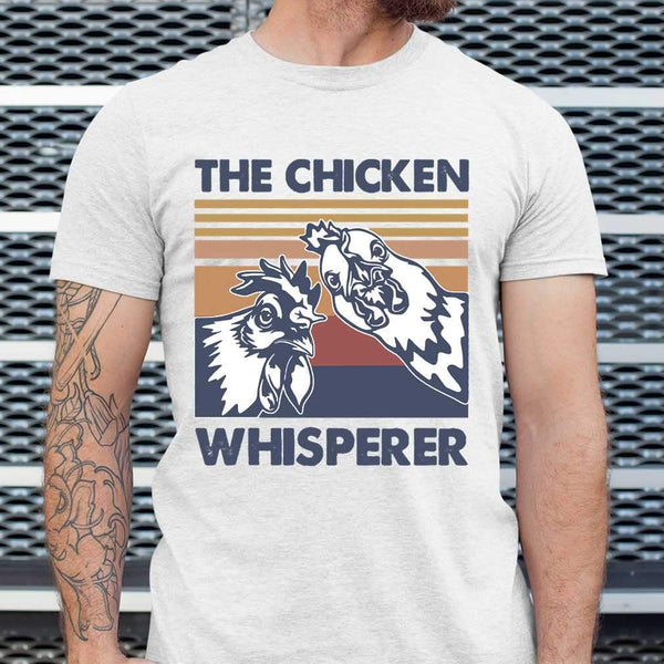 The Chicken Whisperer Roster Vintage T-shirt S By AllezyShirt