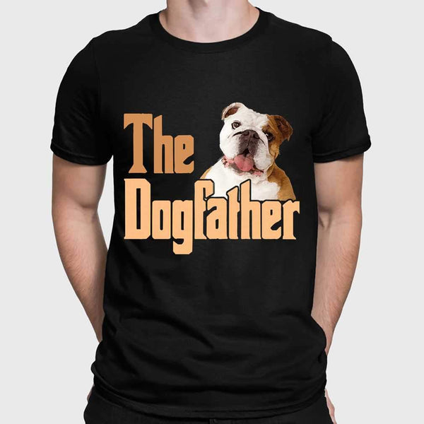 The Dog Father Bulldog T-shirt S By AllezyShirt