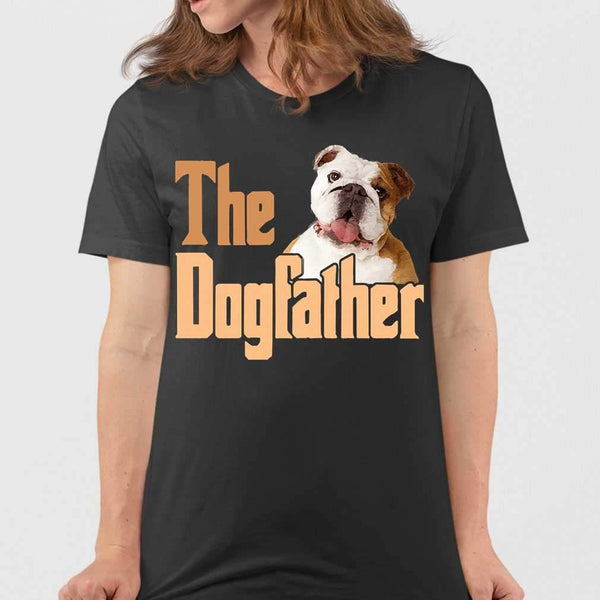 The Dog Father Bulldog T-shirt M By AllezyShirt