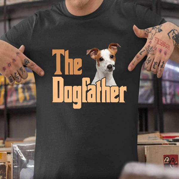 The Dog Father Jack Russell T-shirt S By AllezyShirt