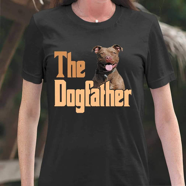 The Dog Father Pitbull T-shirt S By AllezyShirt