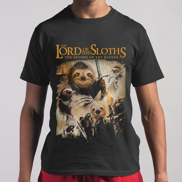 The Lord Of The Sloths The Return Of The Sloths M By AllezyShirt