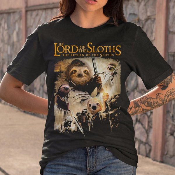 The Lord Of The Sloths The Return Of The Sloths S By AllezyShirt