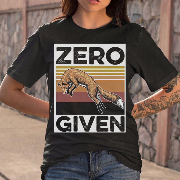 The Wolf Zero Given Vintage Shirt S By AllezyShirt