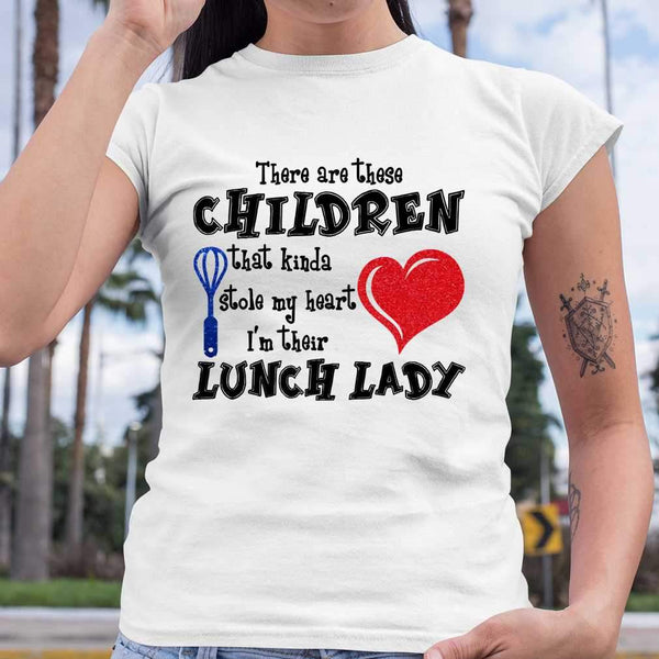 There Are These Children That Kinda Stole My Heart I'm Their Lunch T-shirt S By AllezyShirt