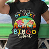 This Is My Lucky Bingo Vintage Shirt M By AllezyShirt