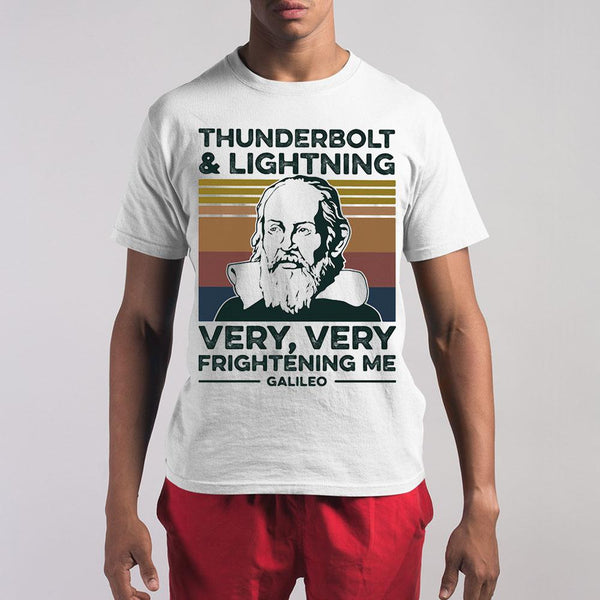Thunderbolt And Lightning Very Very Frightening Me Galileo Vintage 2020 Shirt S By AllezyShirt