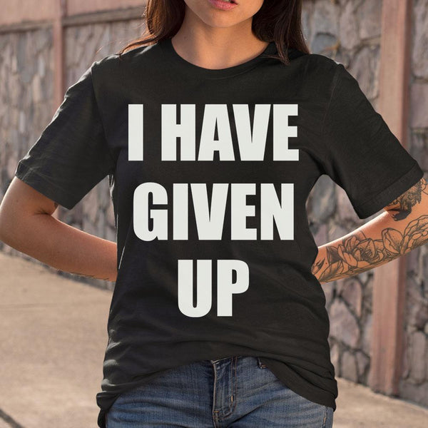 Thundercat I Have Given Up Shirt S By AllezyShirt