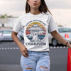 Ufos Social Distancing Champion Shirt S By AllezyShirt