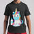 Unicorn Mask Hand Wash T-shirt