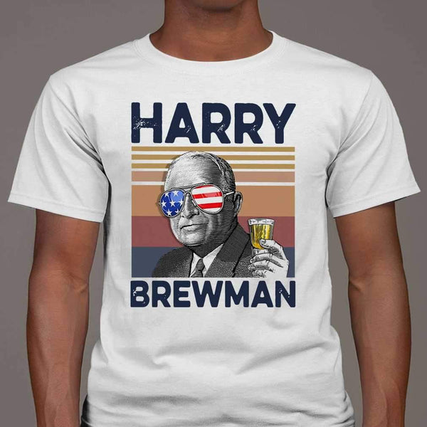 Us Drink Harry Brewman Vintage T-shirt M By AllezyShirt