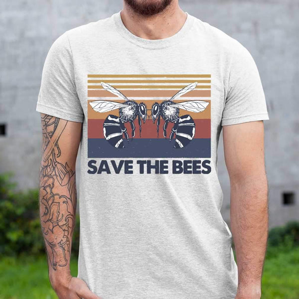Vintage Beekeeper Save The Bees T-shirt S By AllezyShirt