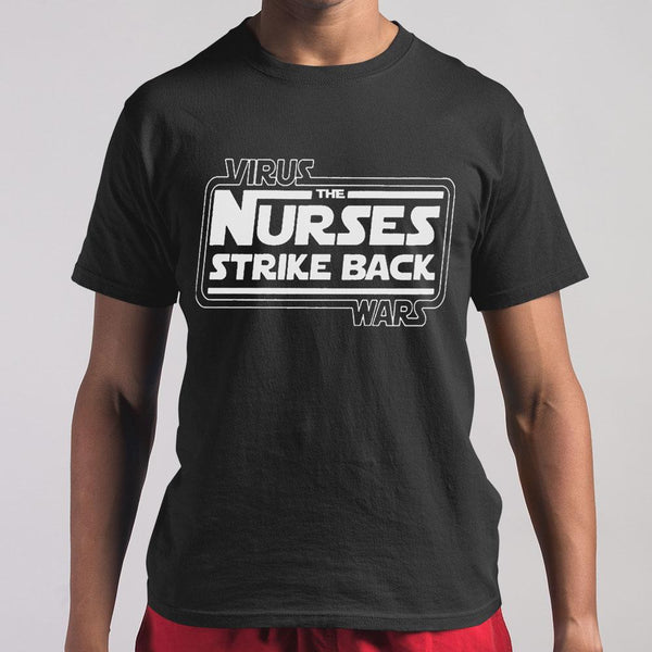 Virus The Nurses Strike Back Wars T-shirt M By AllezyShirt