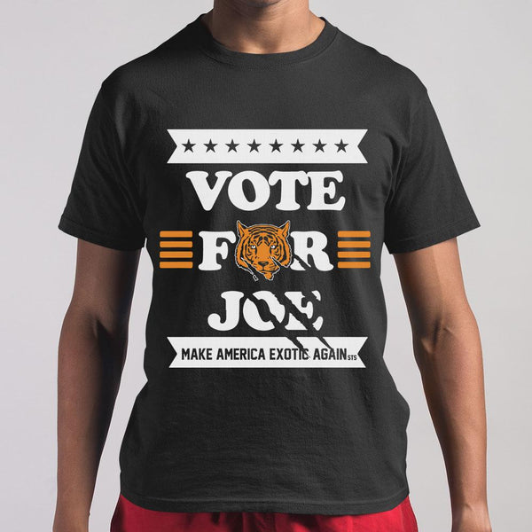 Vote Joe Exotic 2020 For President Shirt M By AllezyShirt
