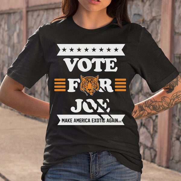 Vote Joe Exotic 2020 For President Shirt S By AllezyShirt