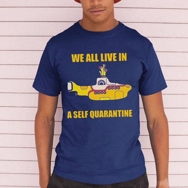 We All Live A Self Quarantine Shirt M By AllezyShirt