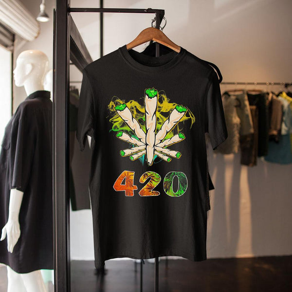 Weed The Smoke Circle 420 Shirt M By AllezyShirt